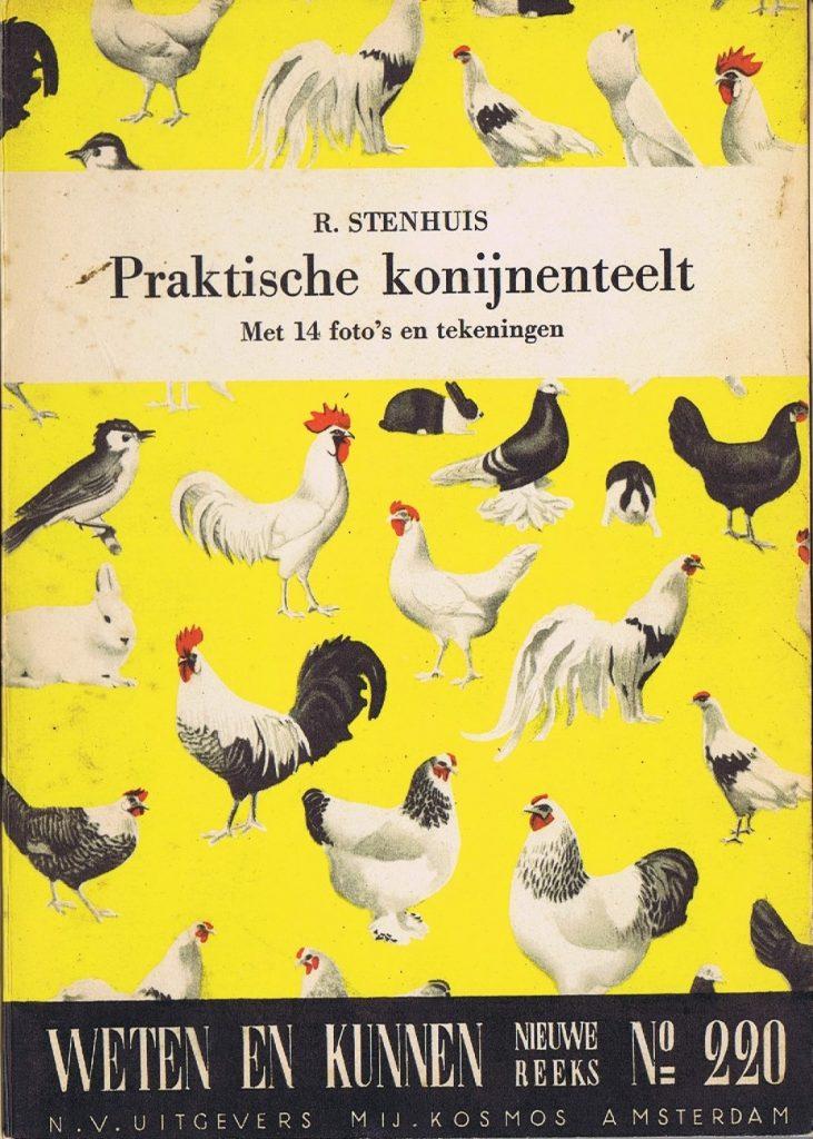 Cover boek Practische konijnenteelt