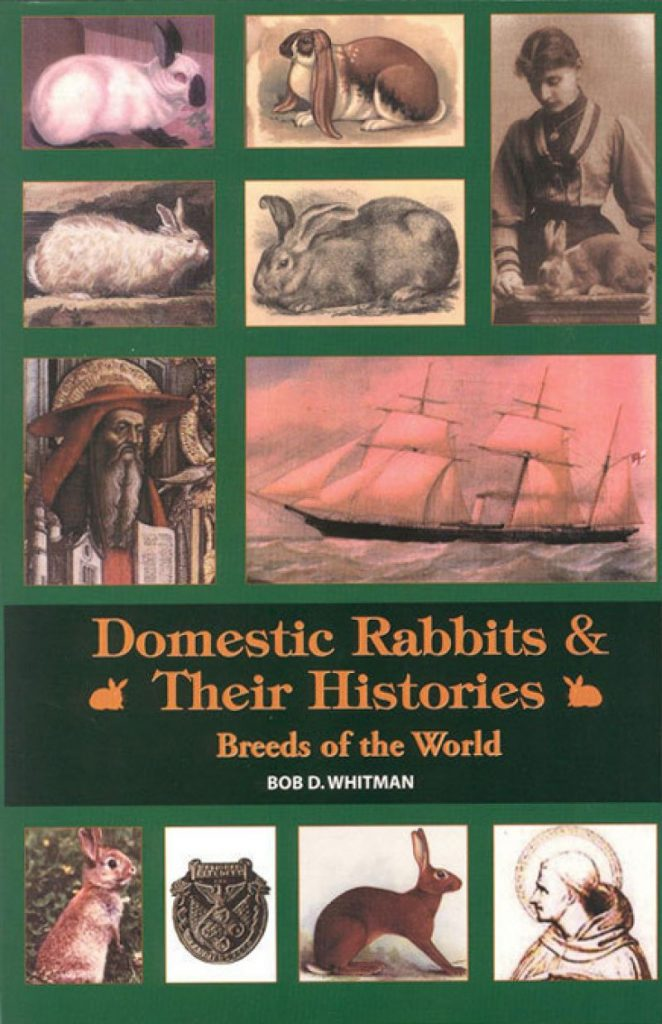 Cover van het boek Domestic Rabbits & their histories