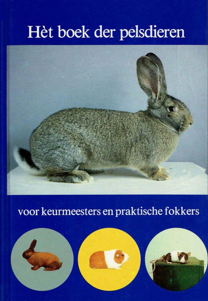 """Cover boek """"Het boek der pelsdieren"""""""